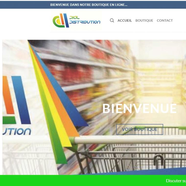création de site web dial-distribution